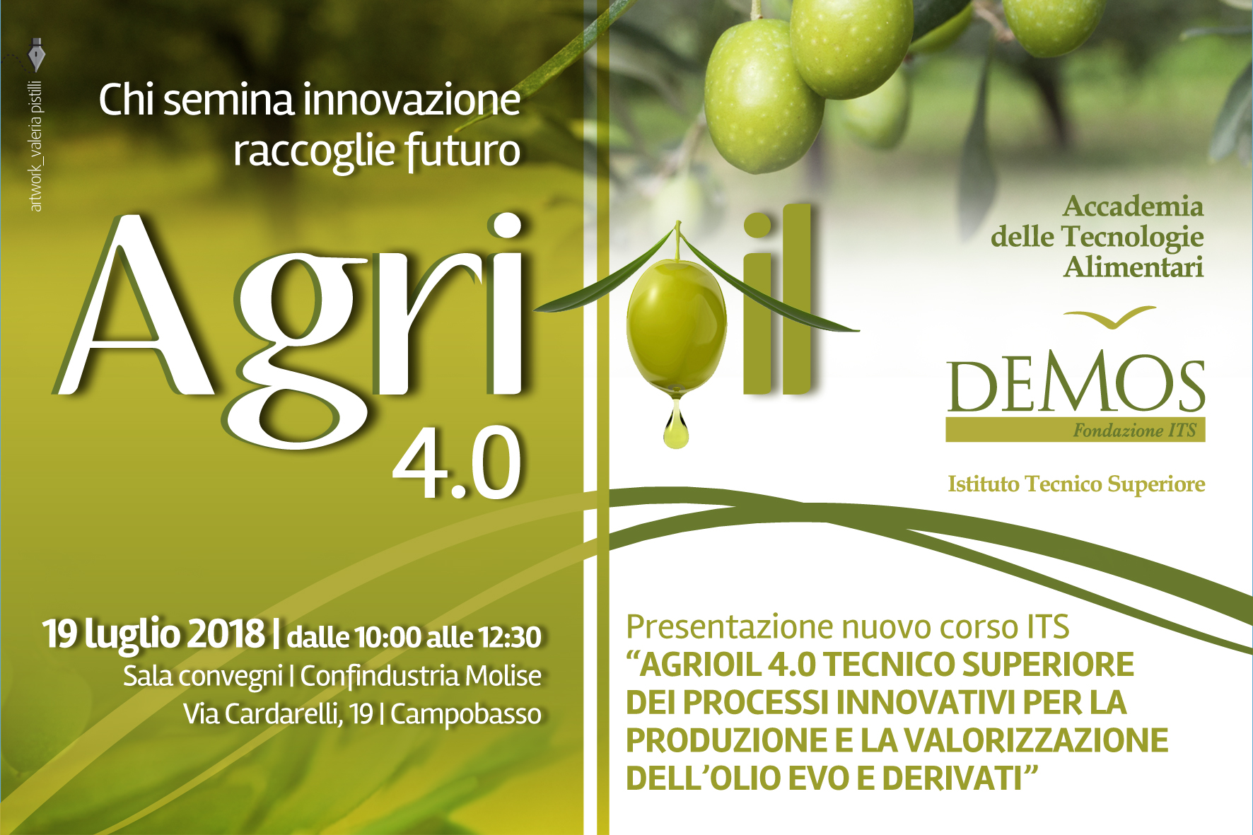 Save The Date AGRIOIL 4.0