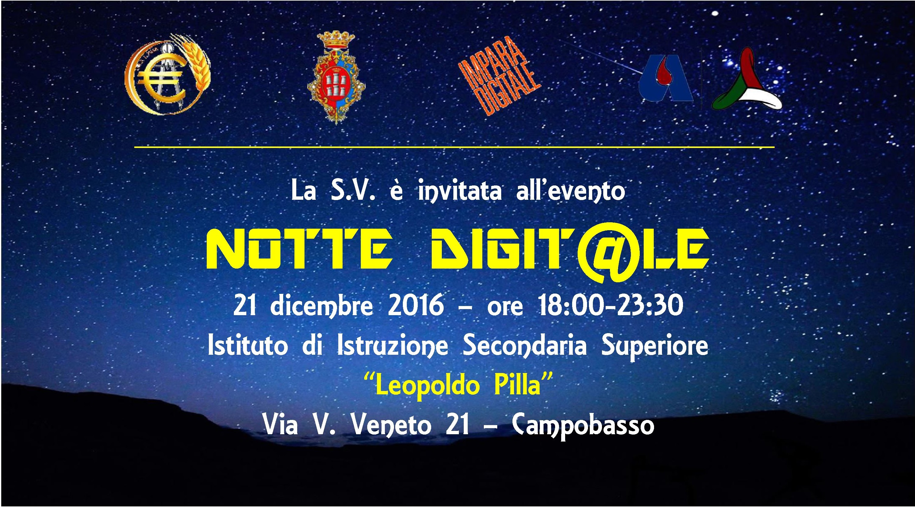 invito Notte Digitale